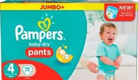 Bild på Pampers Baby-Dry Pants S4 8-15 kg Jumbopack 72 st