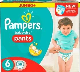 Bild på Pampers Baby-Dry Pants S6 16+ kg Jumbopack 58 st
