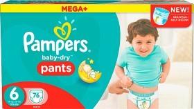 Bild på Pampers Baby-Dry Pants S6 16+ kg Megapack 76 st
