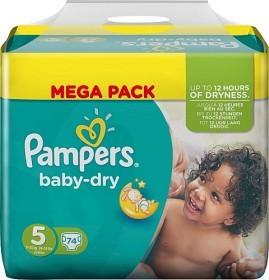 Bild på Pampers Baby-Dry S5 11-25kg 74 st