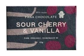 Bild på Pana Raw Sour Cherry & Vanilla 45 g