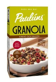Bild på Pauluns Granola Kakao & Hallon 450 g