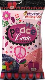 Bild på Peace & Love lakrits/hallon 80 g