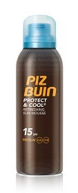 Bild på Piz Buin Protect & Cool Mousse SPF 15 150 ml
