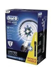 Bild på Oral-B PRO 4500 Svart Dubbelpack