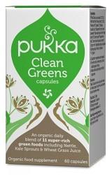 Bild på Pukka Clean Greens 60 kapslar