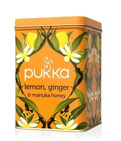 Bild på Pukka Lemon, Ginger & Manuka Honey Presentburk (tom)