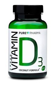 Bild på PurePharma Vitamin D3 120 kapslar