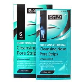 Bild på Purifying Charcoal Deep Cleansing Nose Pore Strips 6 st