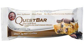 Bild på Questbar Chocolate Chip Cookie Dough 60 g