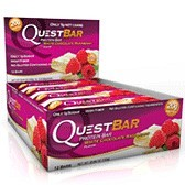Bild på Questbar White Chocolate Raspberry 12 st