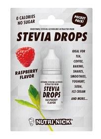Bild på Nutri-Nick Stevia Drops Pocket Pack Raspberry 10 ml