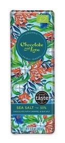 Bild på Dark Chocolate with Caramel & Sea Salt 40 g