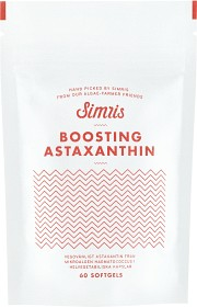 Bild på Simris Boosting Astaxanthin 60 kapslar