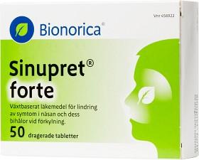Bild på Sinupret Forte 50 tabletter
