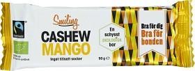 Bild på Smiling Bar Cashew Mango 50 g