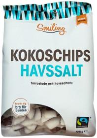 Bild på Smiling Kokoschips Havssalt 125 g