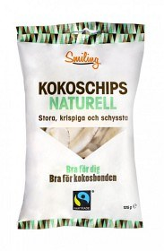 Bild på Smiling Kokoschips Naturell 125 g