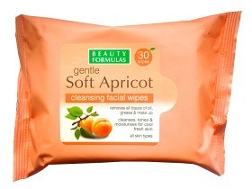 Bild på Soft Apricot Cleansing Facial Wipes 30 st