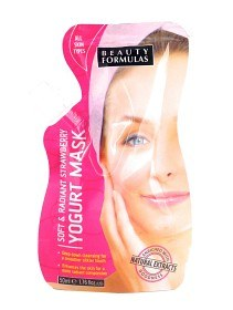 Bild på Soft & Radiant Strawberry Yogurt Mask