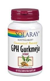 Bild på Solaray GPH Gurkmeja 60 tabletter