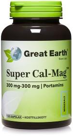 Bild på Great Earth Super Cal-Mag 300 mg 300 mg, 120 kapslar