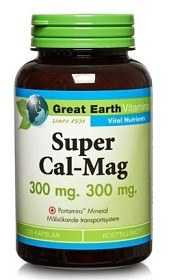 Bild på Great Earth Super Cal-Mag 300 mg 300 mg, 120 kapslar