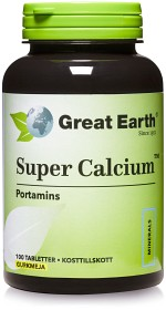 Bild på Great Earth Super Calcium 750 mg 100 tabletter
