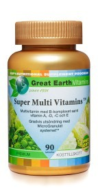 Bild på Great Earth Super Hy Vitamins 90 tabletter