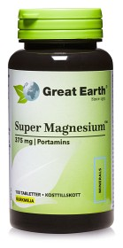 Bild på Great Earth Super Magnesium 100 tabletter
