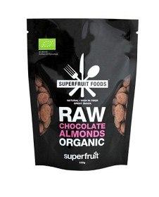 Bild på Superfruit Foods Raw Chocolate Almonds 100 g