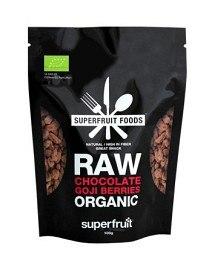 Bild på Superfruit Foods Raw Chocolate Goji Berries 100 g