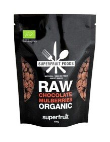 Bild på Superfruit Foods Raw Chocolate Mulberries 100 g