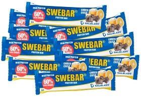Bild på Swebar Less Sugar Choco Orange Crisp 20 st