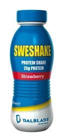 Bild på Sweshake Protein Shake Jordgubb 310 ml