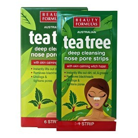 Bild på Tea Tree Nose Pore Strips 6 st