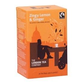 Bild på The London Tea Company Zingy Lemon & Ginger 20 st