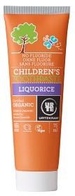 Bild på Urtekram Children Liquorice tandkräm 75 ml