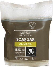 Bild på Urtekram Soap Bar Olive Oil 150 g 3 st