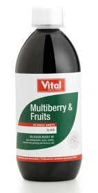 Bild på Vital Elixir Multiberry & Fruits 500 ml