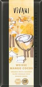 Bild på Vivani Vit Choklad Mango Kokos 100 g