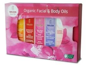 Bild på Weleda Organic Facial & Body Oils 5 st
