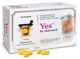Bild på YES 120 tabletter