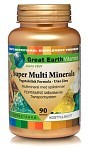Great Earth Super Multi Minerals utan järn 90 tabletter