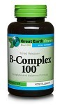 Great Earth B-Complex 100, 90 tabletter