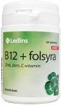Ledins B12 + Folsyra 60 tabletter