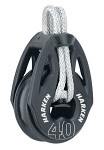 Harken T2 40 mm Soft-Attach Loop Block