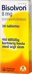 Bisolvon, tablett 8 mg 20 st
