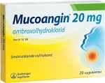 Mucoangin, sugtablett 20 mg 20 st