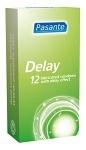 Pasante kondom Delay/Infinity 12-pack
